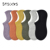 Fresh Colored Plain White Cotton Socks Womens Athletic Low Cut Sport No Show Cotton Woman Socks In Stock