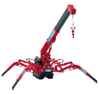 Hot sale 3ton mini crawler crane/spider crane for Australian