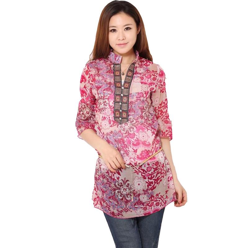 Compra blusas indio online al por mayor de China
