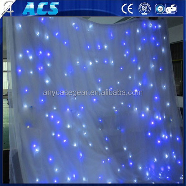 Warm White LED Shower Curtain/Multicolor LED Light Christmas Ligh/Wholesale 5*10m led waterfall curtain light for wedding