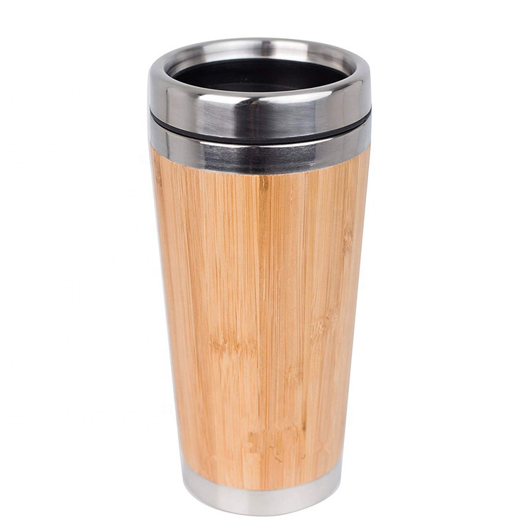 Original Bamboo Stainless Steel Bottle Coffee Mug Insulated Bamboo Travel Tumbler Eco-friendly Tea <strong>Cup</strong>