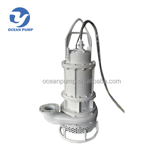 electric submersible drive river mud solid pump with easy operation
