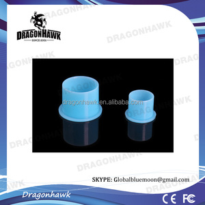 Wholesale Plastic Tattoo Ink Cup Small Size Blue Color