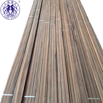 Quartered Macassar Ebony Sliced Wood Veneer For Panels/Furniture /Door/Plywood
