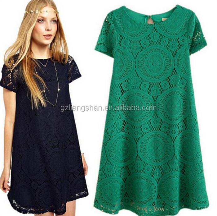 Latest Fashion Design Lady Blouse Lace Dress Designs Lace Blouse ...