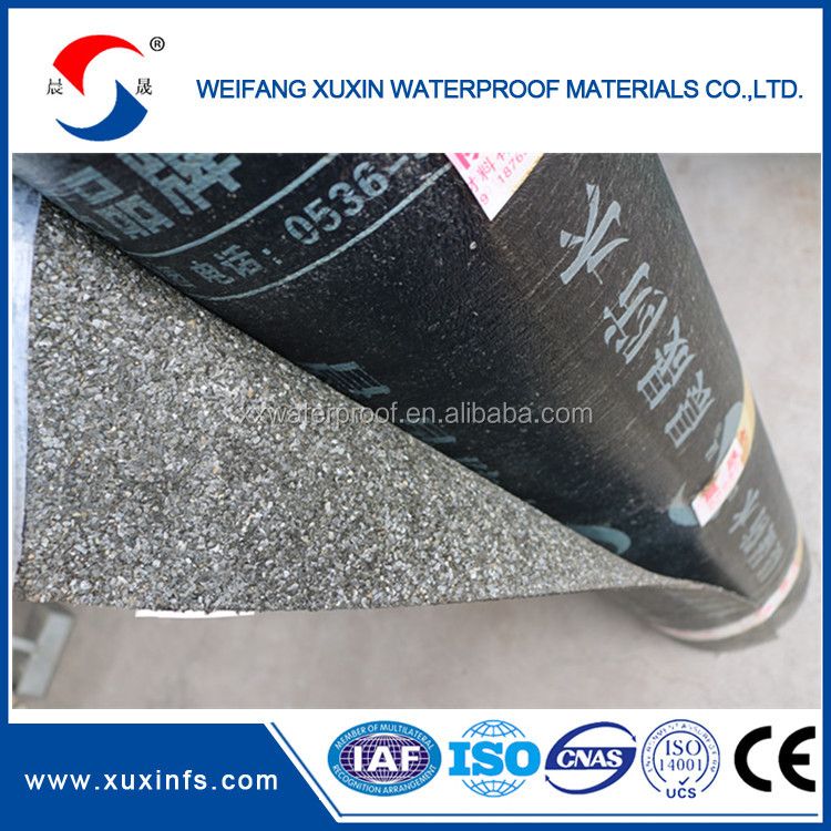 3.0mm Hot sale self adhesive bitumen waterproof roofing felt