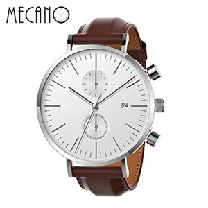 Automatic Mechanical Men's watch Chronograph Watches Men Genuine Leather Male Wristwatch