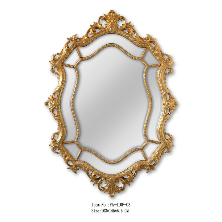 Blattgold Kamin Oben Dekorative Große Größe Gerahmte Spiegel - Buy ...