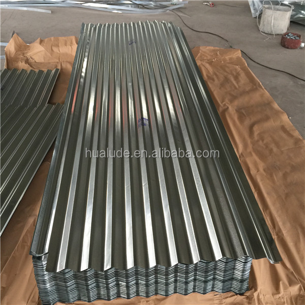 steel roof structure corrugated galvanized zinc roof sheets