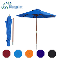 Large Advertising beach umbrella promotional gifts solar led