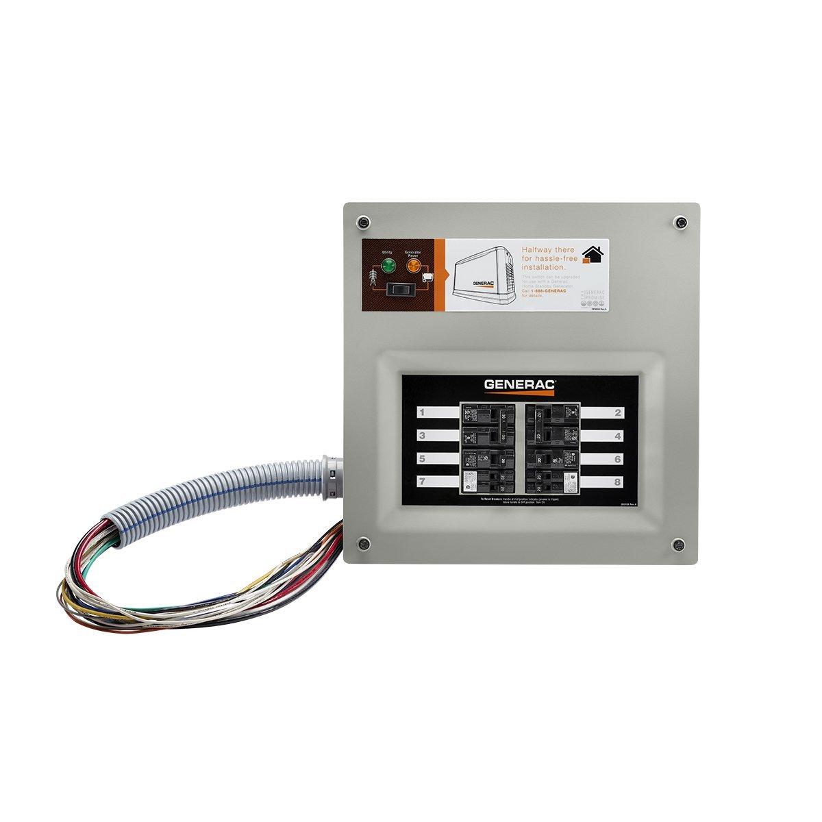 MNL-5624] Generac Manual Transfer Switch 6295   2019 Ebook Liry on