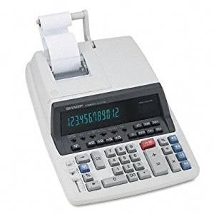 SHRQS2770H - QS-2770H Two-Color Ribbon Printing Calculator