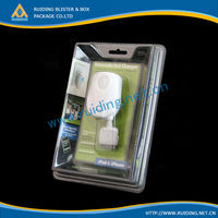 usb accessories clamshell blister package