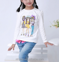 OEM <span class=keywords><strong>nova</strong></span> clothing print baby clothes/girl t shirt frozen chinese imports wholesale