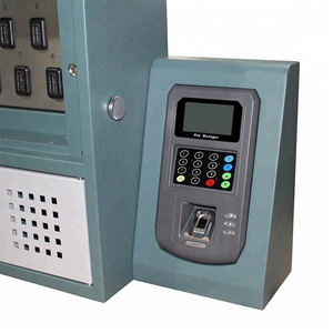 Sheet Steel, Power Coated RFID Key Tracing Electronic Key Management System