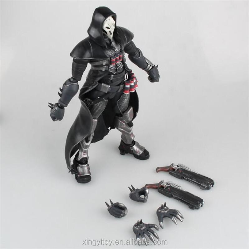 GIOCO OW VEDETTA Reaper Gabriel Reyes 21cm PVC Figura Statua Nuovo in Scatola