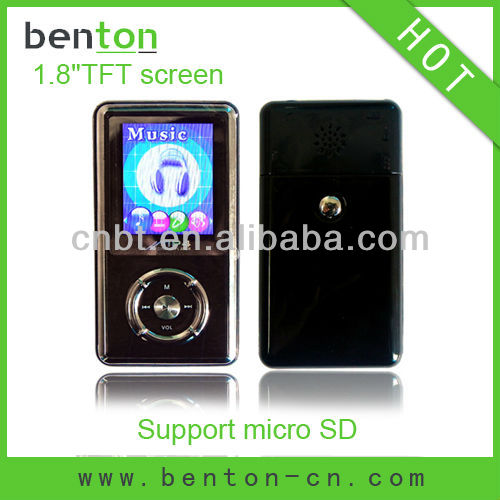 1gb firmware mp4 player with memory card slot (BT-P208)