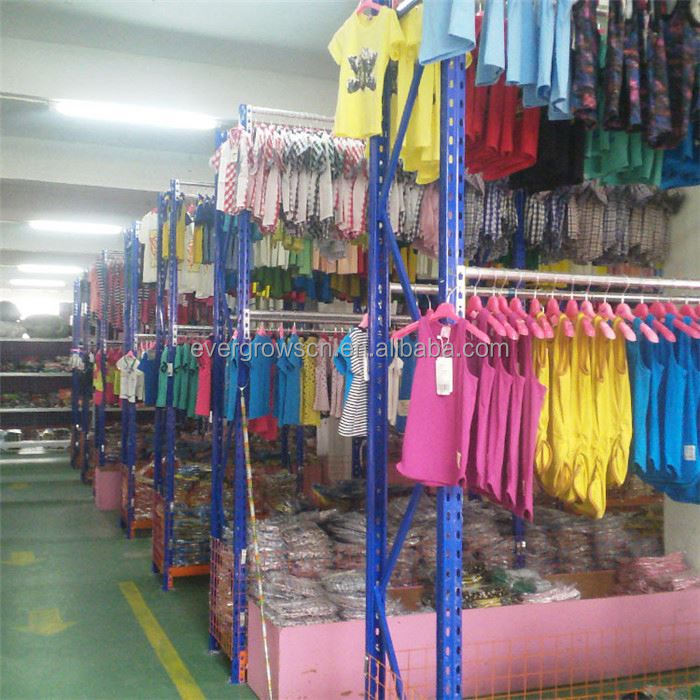 Cloth Shelving In Warehouse Easy To Install And Uninstall