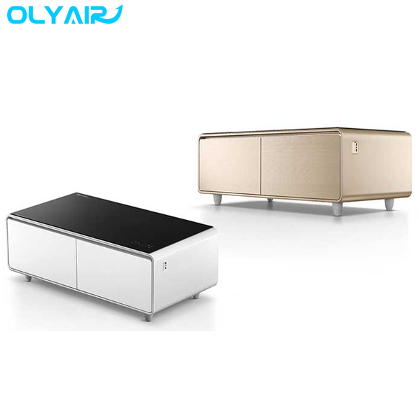Refrigerator Coffee Table.The Olyair Refrigerator Coffee Table With Smart Touch Control Buy Bar Fridge Coffee Table Drawer Fridge Mini Fridge Coffee Table Product On