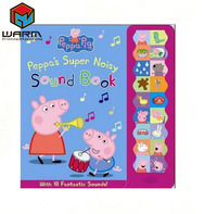 Printing Pop Up Children Board Book peppa pig kids book