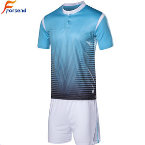 Sports Jersey New Model Wholesale 100% Polyester Mesh Sublimation Printing  Custom T- shirt Soccer 1027a395c