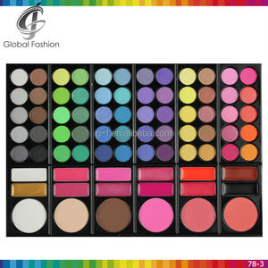 Pro 78 Color Eyeshadow Palette 60 Color Eyeshadow 6 Blusher 12 Lip Gloss Eyeshadow Palette