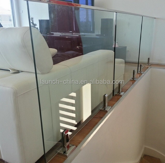 Stainless Steel U Channel For Outside Glass Railing Mini Top Rail ...