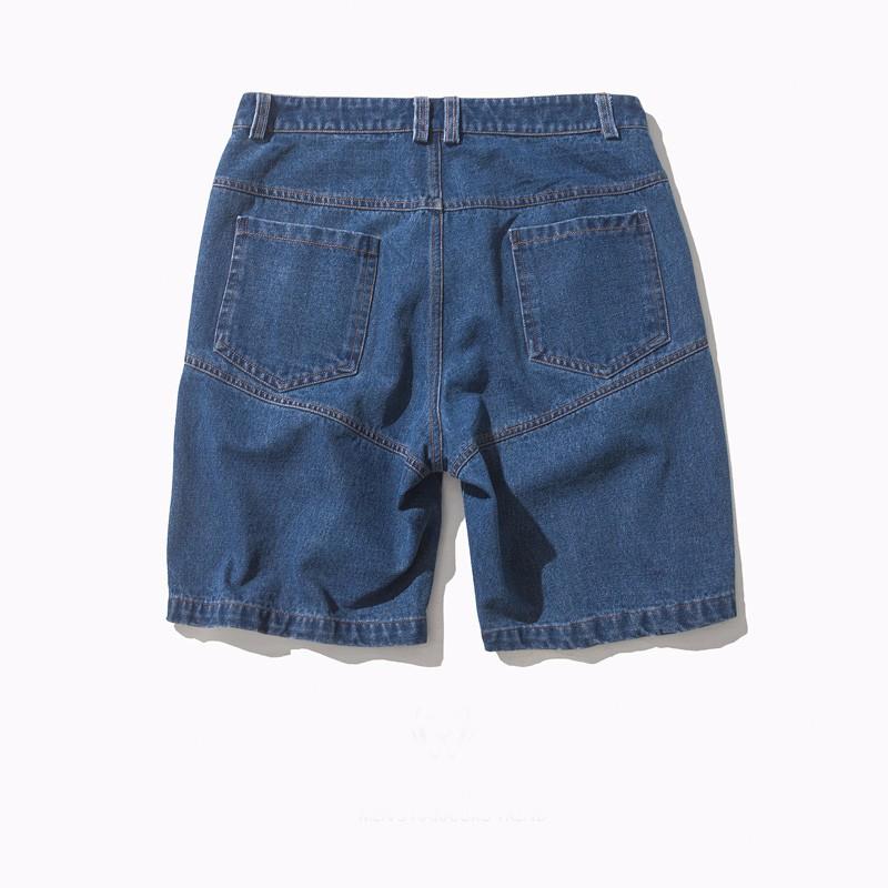 Lastest Design Jeans Shorts Men 2 Front Pocket Blue Wash Denim ...