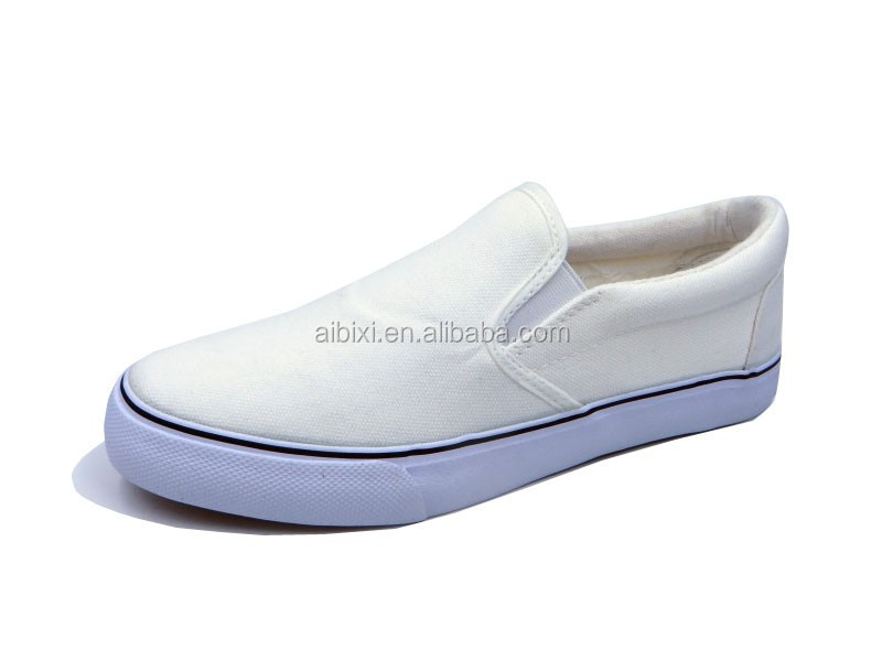 custom made vulcanized blank white canvas shoes buy