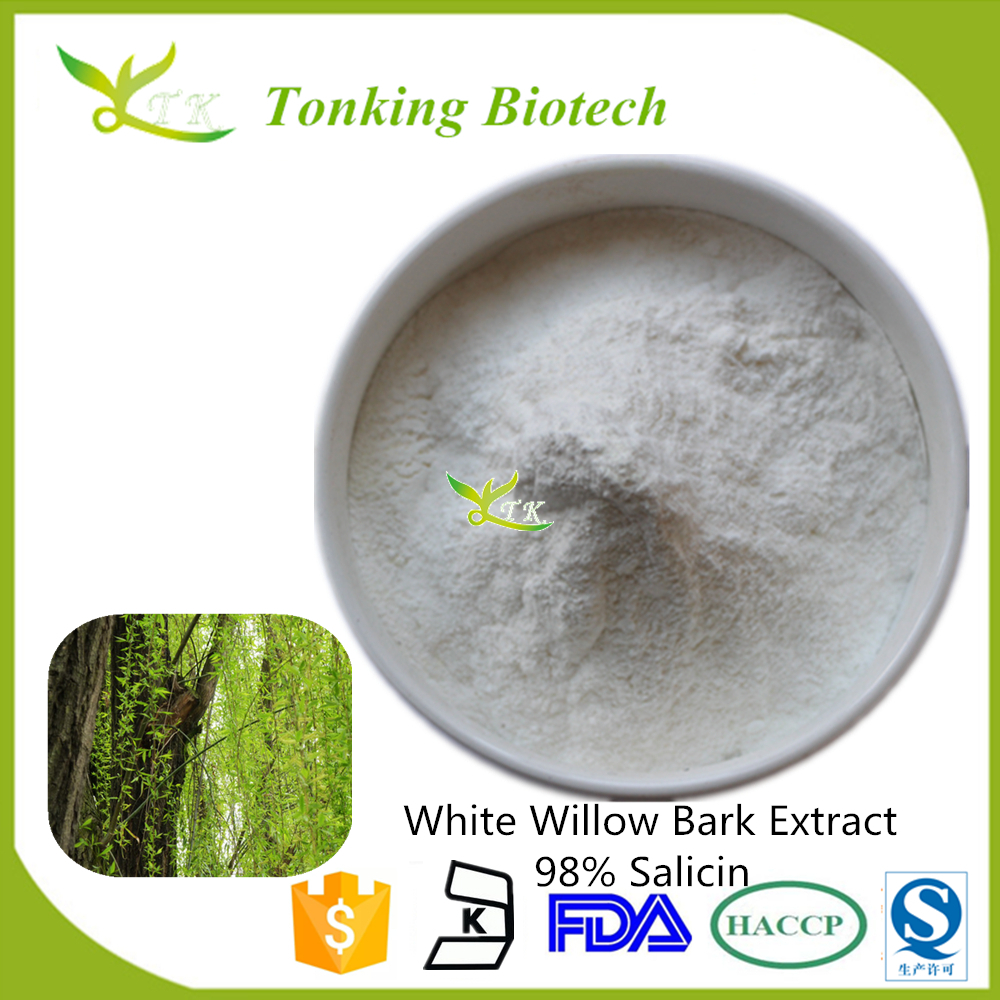 Factory Supply High Quality White Willow Bark Extract Salicin