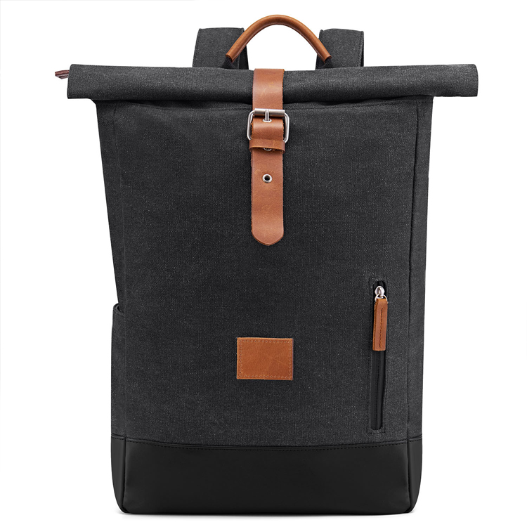 Hiking Daypacks Computers Laptop Canvas Bag Men Satchel Leather Vintage Waxed Canvas Backpack