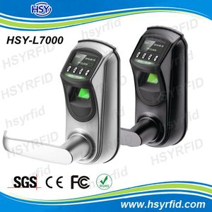 OLED Display biometric fingerprint intelligent lock management systems with Usb interface