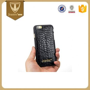 Oem/Odm Service 100% Crocodile Leather Phone Case Factory