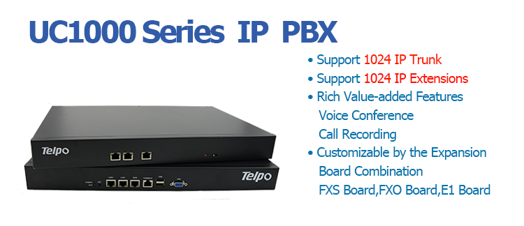 Telpo Telephone System Cost-Effective Voip Ip Pbx Gateway