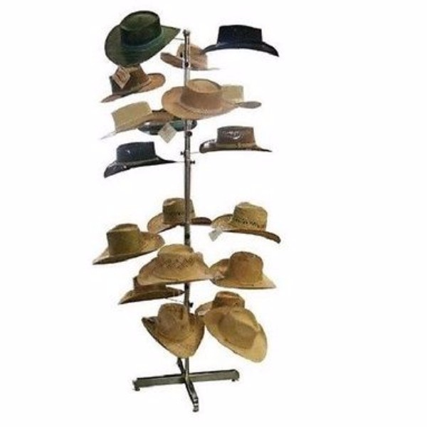 Free Standing Spinner Metal Commercial Hat Racks Buy Hat
