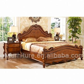 Simple Double Bed Design In Woods