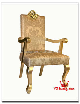 modern dining chair luxury throne gold chairs for sale used - buy
