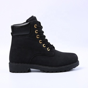 great deals 2017 dependable performance top brands Fashion dr martin boots black women winter warm ankle boot shoes