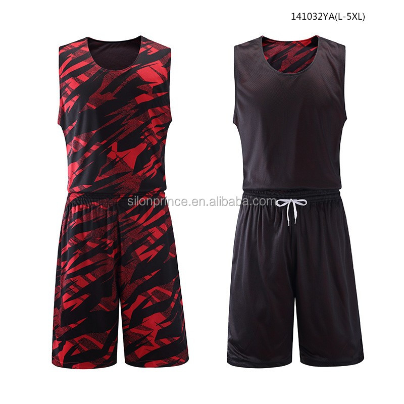Wholesale Best Blank Sublimated Uniform Reversible Custom Basketball Jersey