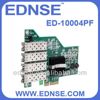 server adapter card ED-10004PF network interface card SFP Slots*4 NIC