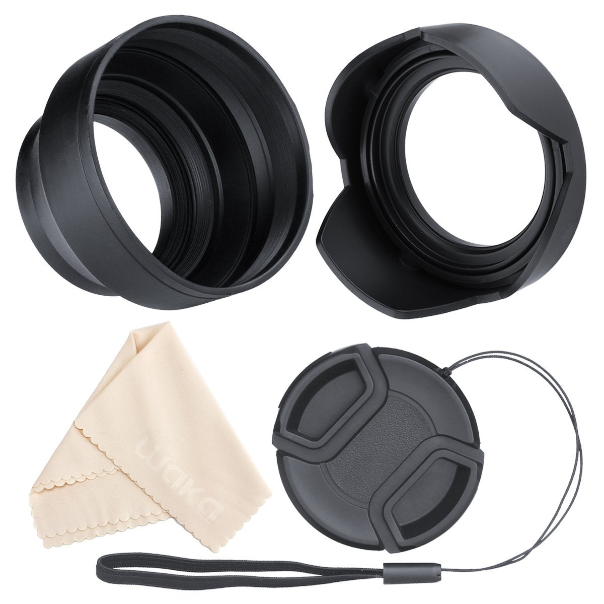 RIMMZZ TD-LC-P6782 All-in-one versatile multi-sized Camera lens cap 67mm-82mm Product Name RIMMZZ Pro Universal lens cap fits many brands and lens size 67mm to 82mm Double sided