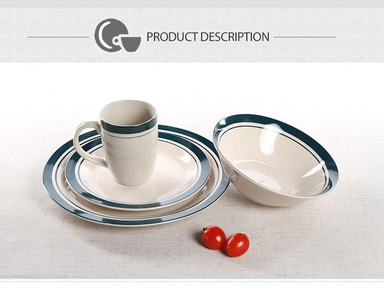wholesale ceramic mugs hotel used dinner plates spanish style dinnerware set  sc 1 st  Alibaba & Wholesale Ceramic Mugs Hotel Used Dinner Plates Spanish Style ...
