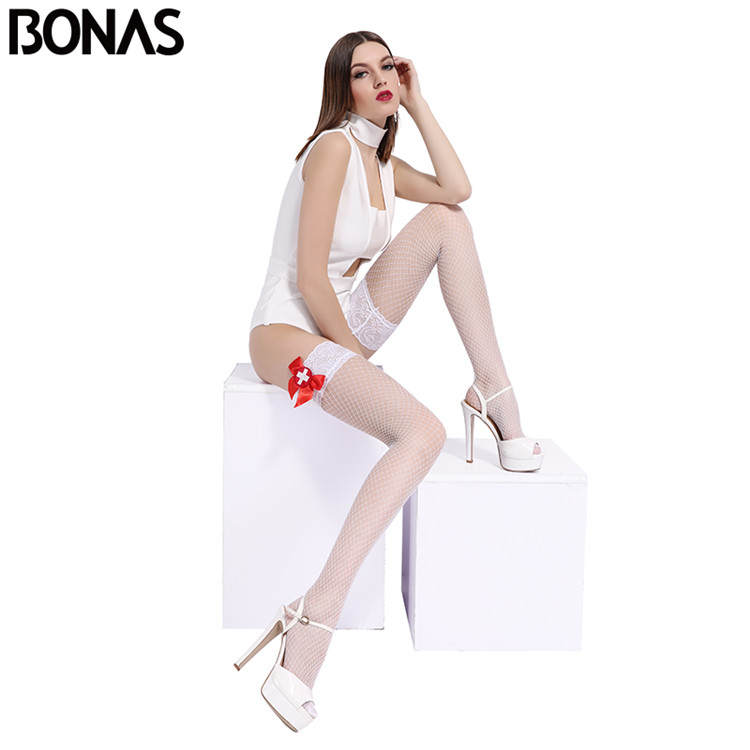 Factory supply top fashion special design breathable well-fitting stockings nylon legs sexy