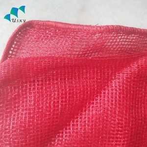 PP/PE red onion mesh bag made in china
