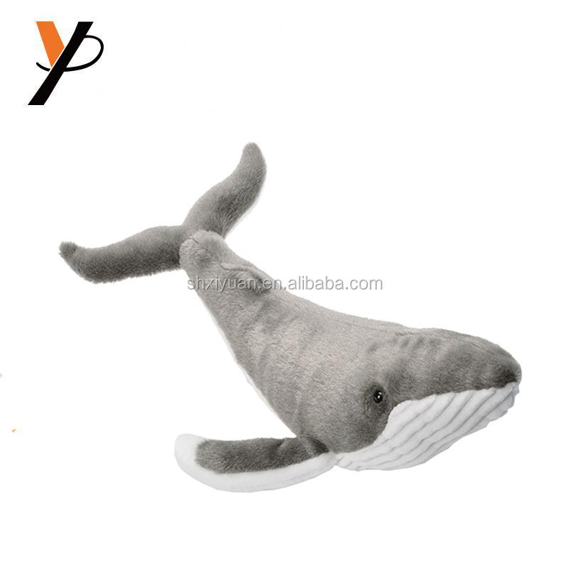 ぬいぐるみかわいい海の動物ザトウクジラ