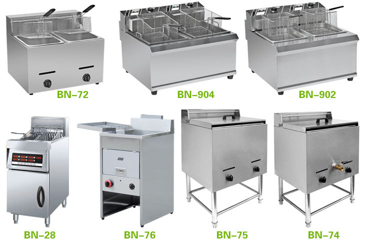 Industrial Electric Plantain Chips Fryer Bn 8l 2 Ce