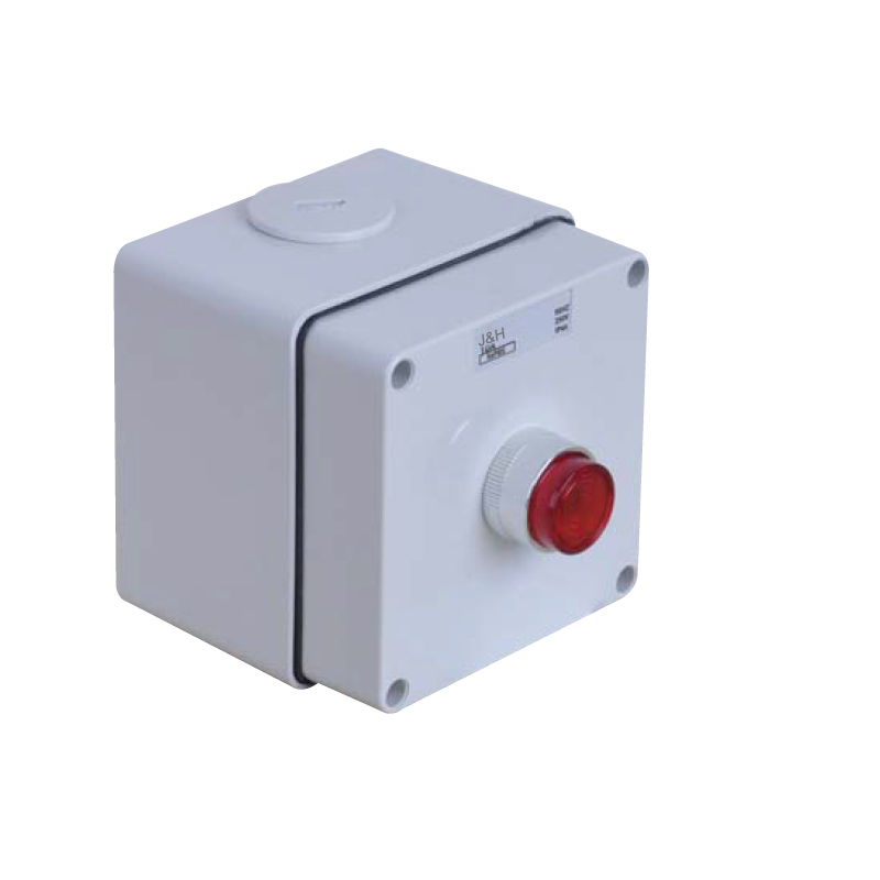 चीन की आपूर्ति ऑस्ट्रेलियाई मानक IP66 निविड़ अंधकार क्षणिक पुश बटन स्विच नियंत्रण शुरू स्टेशन