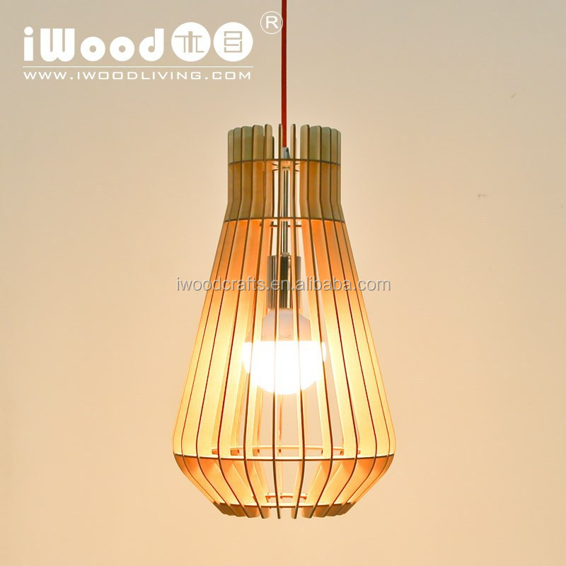 iWood Plywood hanging ceiling light