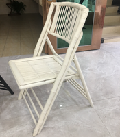 2019 New Classic real bamboo folding recliner chair furniture