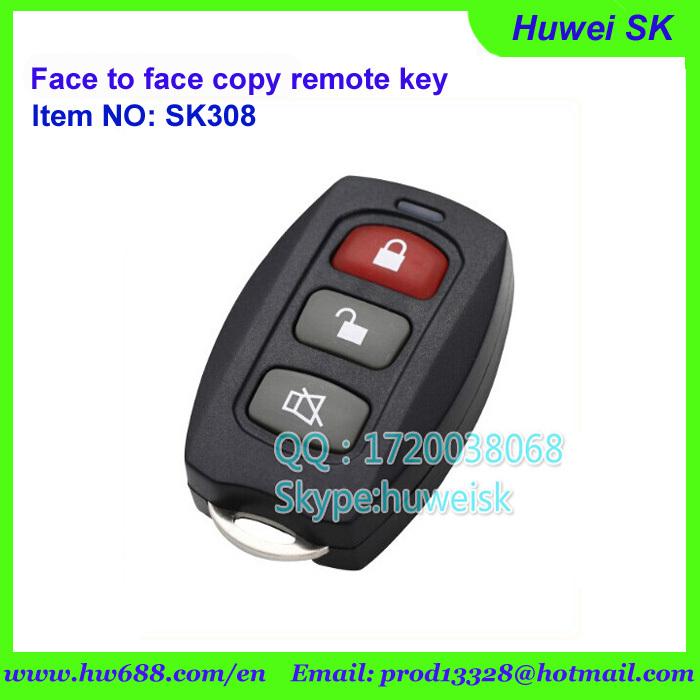universal garage door openersSk315 Push Cover Universal Garage Door Remote Face To Face Copy